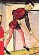 В XIII - XV вв. во Франции узкая верхняя мужская одежда с застежкой...