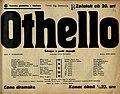Plakat za predstavo Othello v Narodnem gledališču v Maribor 30. januarja 1940.jpg