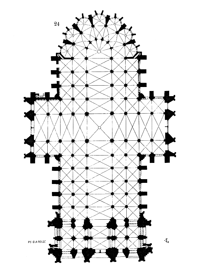Plan.cathedrale.Cologne