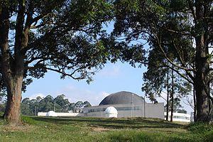 Carmo Planetarium - A view of the planetarium