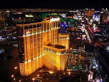 Planet Hollywood Las Vegas 2009 at night.jpg