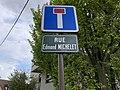 Plaque Rue Edmond Michelet - Rosny-sous-Bois (FR93) - 2021-04-15 - 2.jpg