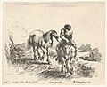 Plate 11- a young horseman, seen from the front, leading another horse, from 'Diversi capricci' MET DP833188.jpg
