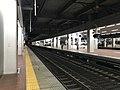 Platform of Hakata Station (local lines) 9.jpg
