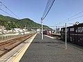 Platform of Itozaki Station 5.jpg