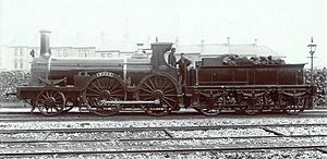 GWR Hawthorn Class - Wood at Plymouth c.1890