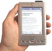 A Pocket PC