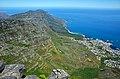 Pohled na 12 apoštolů ze Stolové hory - Kapské město, Jižní Afrika - panoramio.jpg