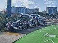 Police motorcycles at San Juan.jpg