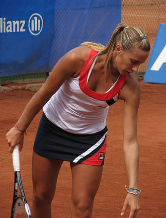 Polona Hercog - Polona at the 2009 Allianz Cup