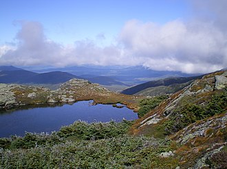 Tarn (lake) - Image: Pond at Lakes of the Clouds