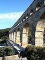 Pont du Gard from terminus.JPG