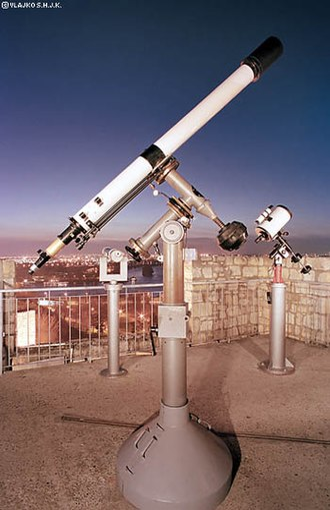 Astronomical Society Ruđer Bošković - Image: Popular Observatory in Belgrade's instruments