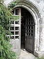 Porch door, St Pancras Church, Widecombe-in-the-Moor - geograph.org.uk - 937774.jpg