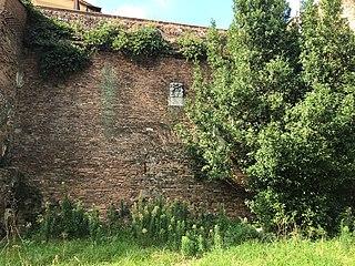 Porta Nomentana building in Rome, Italy