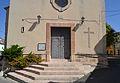Porta de l'església de santa Anna de Campell.JPG