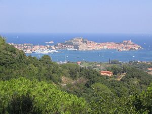 Portoferraio - Panorama of Portoferraio