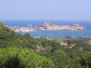 Portoferraio - Panorama of Portoferraio