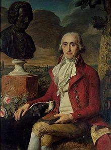 René Louis Girardin (1735–1808), Mitherausgeber des Gesamtwerkes (Quelle: Wikimedia)