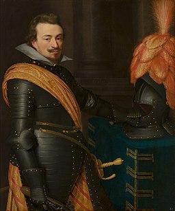 Portrait of John III, Count of Nassau-Siegen by Jan van Ravesteyn and workshop Nationaal Militair Museum MH418