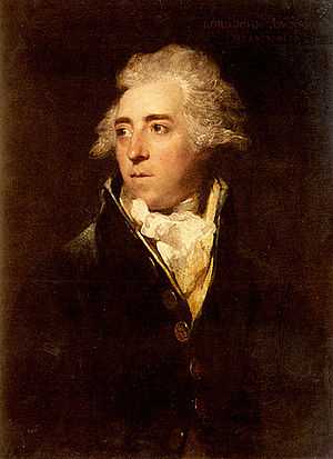 Lord John Townshend - Portrait of Lord John Townshend by Sir Joshua Reynolds