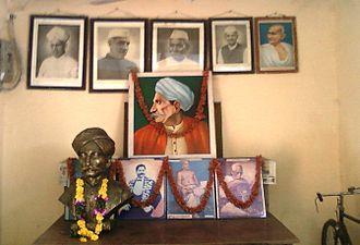 Vizianagaram district - Portrait of Sri Gurazada Apparao garu at Vizianagaram