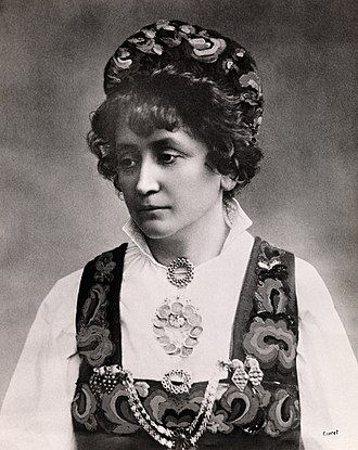 Feminism in Norway - Feminist Hulda Garborg influenced Norwegian civil society in the 19th century.