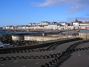 Portstewart - Portstewart seafront.