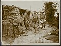 Portugese in the trenches. Advanced dressing station, Bestanddeelnr 158-1686.jpg