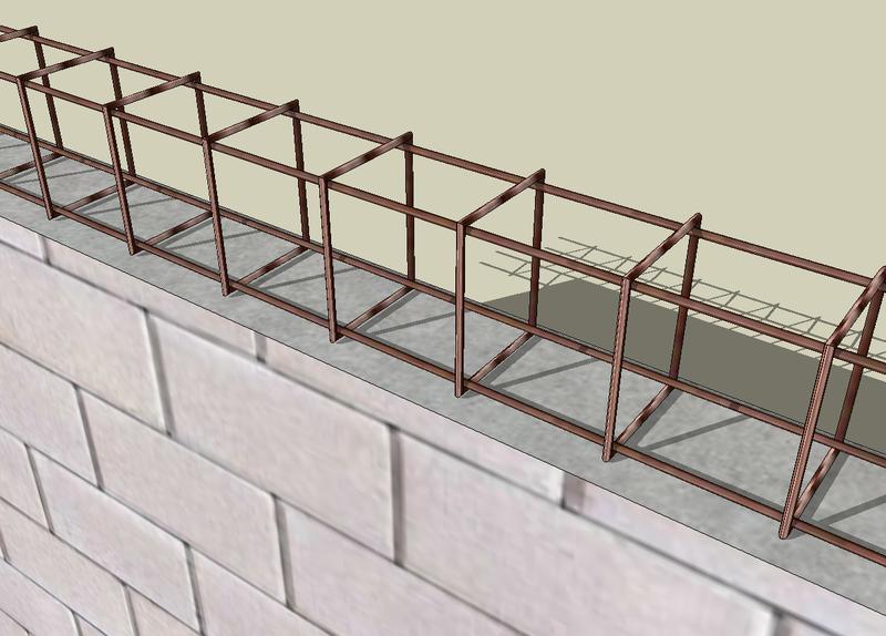 murs porteurs mur porteur b ton cellulaire parpaing fissure maison construction. Black Bedroom Furniture Sets. Home Design Ideas