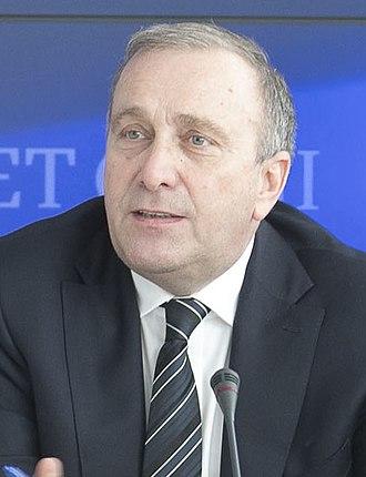 Grzegorz Schetyna - Image: Posiedzenie Gabinetu Cieni (cropped)