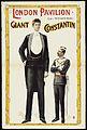 Poster; London Pavilion ; Giant Constantin Wellcome L0063562.jpg