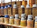 Pottery in Iran - qom فروشگاه سفال در ایران، قم 19.jpg
