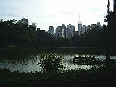 Parque da Aclimação, um dos parques mais famosos de São Paulo.