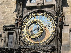 24 (number) - Astronomical clock in Prague
