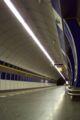 Praha, Hloubětín, Stanice metra Kolbenova, nástupiště.JPG