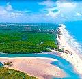 Praia de Boca da barra mataraca na paraiba.jpg