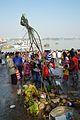 Preparation - Chhath Puja Ceremony - Baja Kadamtala Ghat - Kolkata 2013-11-09 4242.JPG