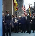 President John F. Kennedy at City Hall in Cologne, Germany JFKWHP-KN-C29226.jpg