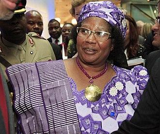 Joyce Banda - Image: President of Malawi Joyce Banda (8985928177)