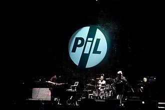 Public Image Ltd - PiL performing in 2011.