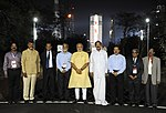 Prime Minister Moi at the Launch Pad and GSLV Vehicle Assembly in Sriharikota.jpg