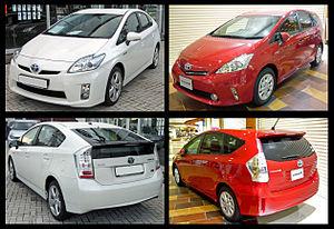 Toyota Prius V - Comparison with 2010 Prius