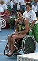 Priya Cooper, Barcelona 1992 Paralympics.jpg
