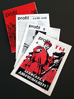 <i>Profil</i> (literary magazine) literary magazine