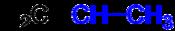 Propene Ethylidene Structural Formulae V.1.png