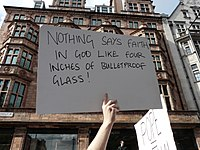 Protest the Pope (18th September 2010) - Nothing says faith.jpg