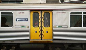 Electric multiple unit (Queensland Rail) - Retro-fitted button-operated doors