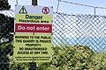 Quarry sign, St John, Jersey.jpg