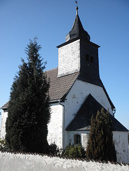 Church in Quaschwitz in Thuringia